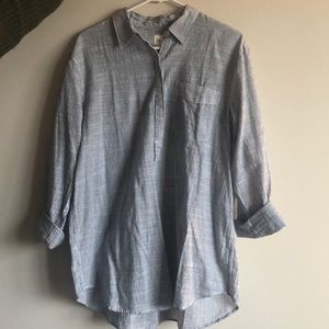 Gap Tunic Button Up Shirt